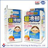薬の紙箱のためにリサイクルされるカスタムロゴによって印刷される使い捨て可能