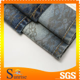 Fabbricato 100% del denim del jacquard del cotone (SRSC 329)