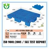 1200*1000*140 9 يعزل ساق وجه منصّة نقّالة شحن بلاستيكيّة