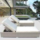 Patio-im Freienmöbel-Aluminiumaufenthaltsraum mit seitlichem Tisch