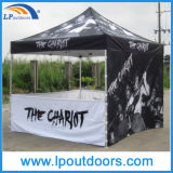 10X10'熱い販売の半分のサイドウォールの表示折るおおいの屋外のテント