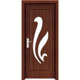 Porta de madeira interior do PVC (M-P6127)