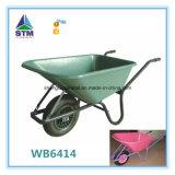 Wheelbarrow da construção Wb6400 com baixo preço