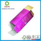 Diseño de papel plegable del rectángulo del perfume en China