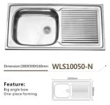 Kitchenware раковины кухни Wls10050-N нержавеющей стали хорошего качества
