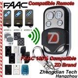 Os transmissores de controle remoto compatíveis de Faac aperfeiçoam a recolocação