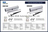 Doppeltes Aluminiumschwingen-automatischer Tür-Bediener mit Motor 50With100W