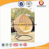 屋外および屋内のための卵によって形づけられる振動椅子(UL-6065)