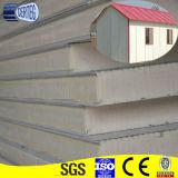 El panel de pared de acero prepintado galvanizado de emparedado de la PU
