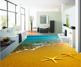 3D Flooring Art Inkjet Printing Wallpaper