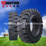 중국 좋은 품질 포크리프트 단단한 타이어, OTR 타이어