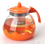 1500ml Cheap Price Glass Infuser Teapot Made in Cina