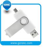 Het Embleem van de douane OTG Pendrive 8GB