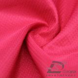 Agua y de la ropa de deportes tela tejida chaqueta al aire libre Viento-Resistente 100% del filamento del poliester del telar jacquar abajo (53176)