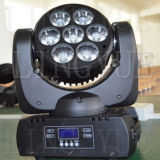 Stade 7X10W RGBW 4in1 Mini LED Moving Head faisceau lumineux