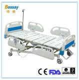 Cinco Función cama de hospital eléctrica con el CE FDA ISO13485: 2003