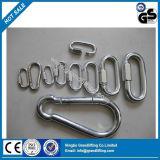 Amo a schiocco dell'acciaio inossidabile 304 316 Carabiner di alta qualità