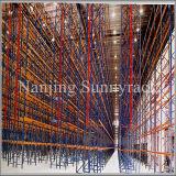 産業倉庫の記憶の棚パレットラック