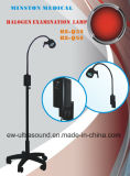 Alogeno Examination Lamp Ks-Q35 Black Mobile Minston 12V, 35W per il Gp, E.N T. Ophthalmology, Gynaecology, Theatre, Minor Operation.