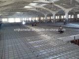 Hojas galvanizadas del Decking del suelo del material de construcción de China para la estructura a dos caras de casas