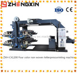 Impresora no tejida certificada del Cuatro-Color Zxh-C41200