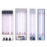 Compteur de débit avec quatre tubes