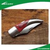 Замка вкладыша ручки высокого качества нож деревянного складывая карманный