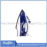 Hierro eléctrico del hierro de vapor que viaja Ei-8817 con el Soleplate de cerámica (azul)