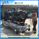 Two Screw Compressor를 가진 물 Cooled Chiller