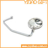 Zin Alloy Purse Hanger with Acrylic Diamond (YB-h-007)