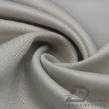agua de 75D 210t y de la ropa de deportes tela tejida chaqueta al aire libre Viento-Resistente 100% de la pongis del poliester del telar jacquar de la tela cruzada abajo (E180)