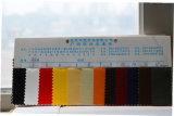 Couro sintético gravado quente do plutônio do couro para as sapatas dos sacos (H841)