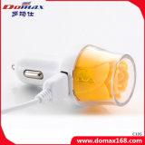 Telefoon 2 USB van de cel nam Ontwerp de Mobiele Lader van de Auto van de Reis toe