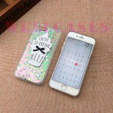 iPhone 6/6plus를 위한 반짝임 분말 아이스크림 전화 덮개 또는 상자