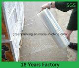 Пленка простирания пластмассы LLDPE хорошей прочности на растяжение влагостойкfNs