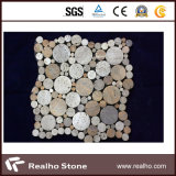 自然な石造りのモザイク/大理石のモザイク・タイル/大理石のモザイク