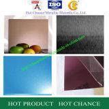 Couleur SUS304, feuille de l'acier inoxydable 316