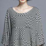 여자 형식 헤링본 면 나일론에 의하여 뜨개질을 하는 겨울 숄 (YKY4526)