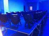 DMX512 Licht van de Disco van het LEIDENE PARI 54X3w RGBW van het Stadium het Lichte