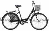 [700ك] [نإكسوس] مشتركة 7 سرعة كلاسيكيّة بنات دراجة مع سلّة [دوتش] [أما] دراجة مدينة دراجة
