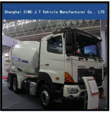 هينو 6X4 شاحنة خلط الخرسانة