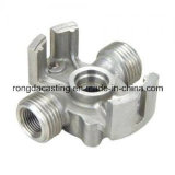 Solenoide di silicone Investment Steel Casting per CNC Machining Parte Pipe Fittings