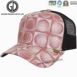 方法幾何学的な図トラック運転手の帽子か網の帽子または帽子