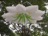 Fleur gonflable Wedding personnalisée par décoration gonflable de DEL