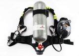 A segurança de combate ao fogo utiliza ferramentas o respirador do ar de pressão de Possitive dos compostos da fibra do carbono