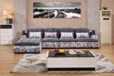 Sofa moderne véritable à la mode de meubles de décor de maison de créateur