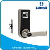 Замок фингерпринта цвета нержавеющей стали Safewell с непредвиденный ключом для офиса или квартиры