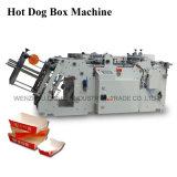 Precios automáticos completos de la máquina de la fabricación de cajas del cartón de la identificación del Ce (QH-9905)