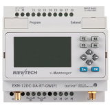Remote Control를 위한 GSM/SMS/GPRS PLC, Ideal Solution & Applications (EXM-12DC-DA-RT-GWIFI-HMI)를 &Alarming Monitoring