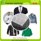 fusibili non tessuti 40GSM cucono nello scrivere tra riga e riga per gli indumenti dei vestiti